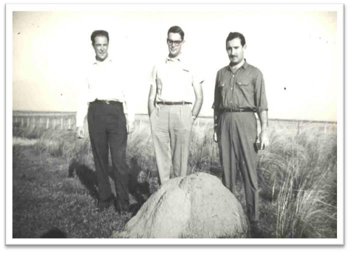 E. Maeder (centro)