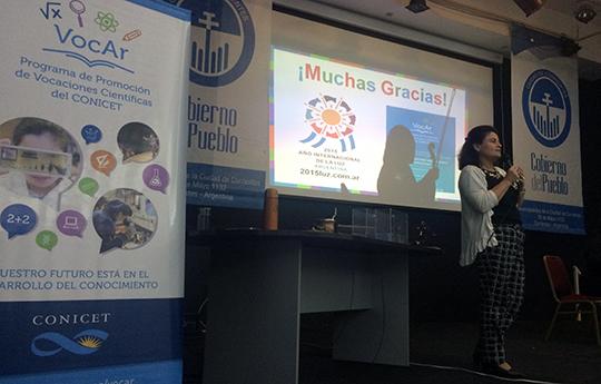 Laura Noto - Coodinadora del programa VocAr