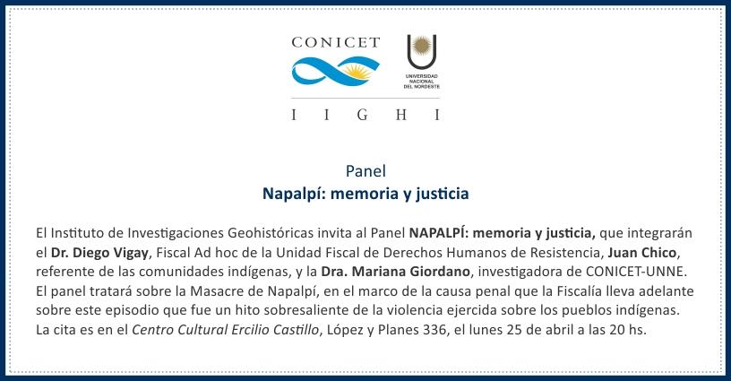 Panel Napalpí
