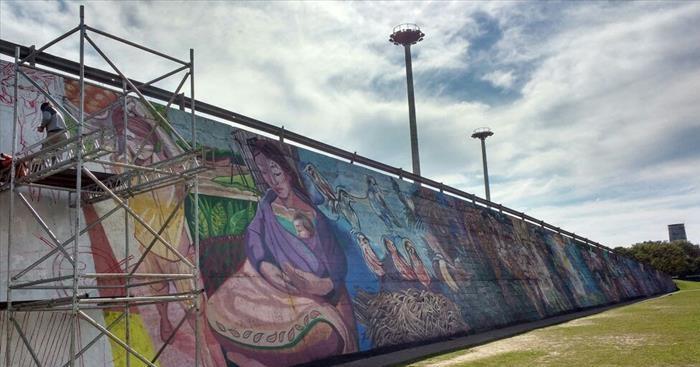 Mural de la correntinidad