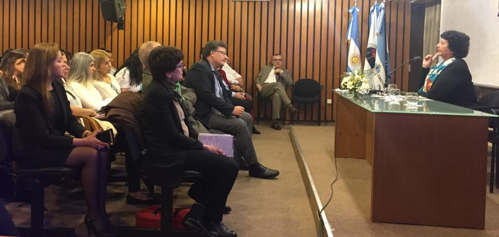 Asistieron a la capacitación cuerpor forenses de Corrientes, Chaco, Misiones y Formosa. FOTO: CONICET Nordeste